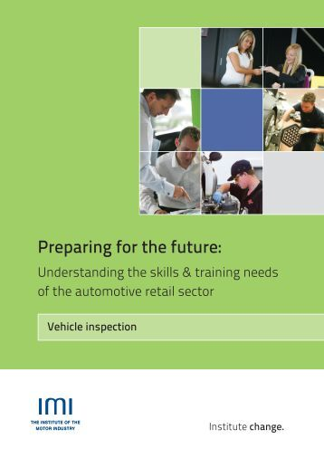 Fy 13 14 motor vehicle inspection checklist for Institute of the motor industry