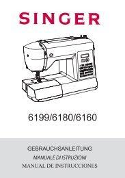 gebrauchsanleitung manuale di istruzioni manual ... - Giordano Shop