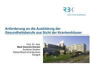 Prof. Dr. Dominik Alscher - Robert Bosch Stiftung