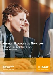 Human Resources Services - BASF IT Services
