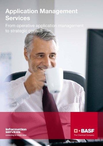 Application Management Services - Operative ... - BASF IT Services