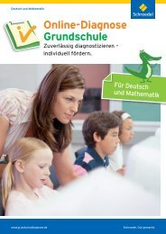 Prospekt (PDF, 2 MB) - Online-Diagnose Grundschule