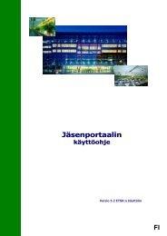 FI Jäsenportaalin - Europa