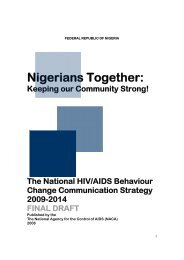 The National HIV/AIDS Behaviour Change ... - UNFPA Nigeria