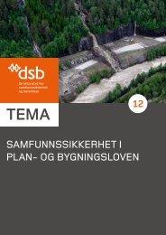 SamfunnSSikkerhet i plan- og bygningSloven - Direktoratet for ...