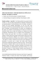 MEDIENINFORMATION - Über uns
