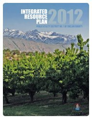 Integrated Resource Plan - Chelan County Public Utility District