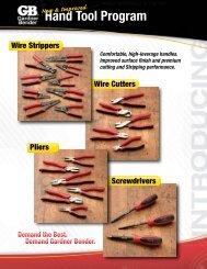 Hand Tool Program FULL-LINE OFFERING - Gardner Bender