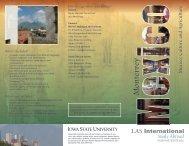 Brochure 1 - Study Abroad - Iowa State University