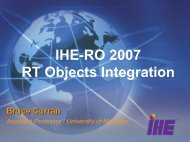 IHE-RO 2007 RT Objects Integration - IHE Wiki