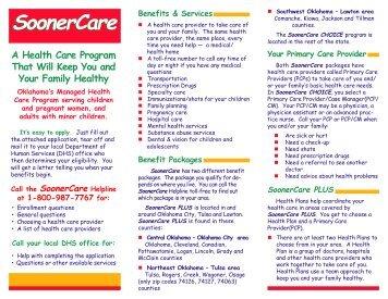 SoonerCare - The Oklahoma Health Care Authority