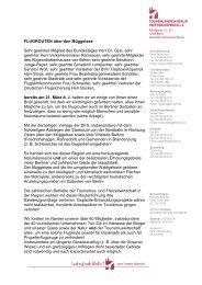 offenen Brief - Berlin Treptow-Köpenick