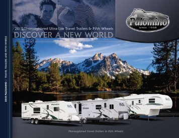 2010 Thoroughbred Ultra-Lite Travel Trailers & Fifth - RVUSA.com