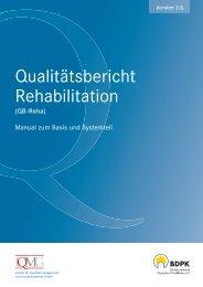 Qualitätsbericht Rehabilitation - IQMG Institut für ...