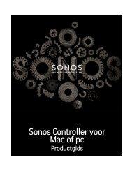 Een Sonos-afspeellijst - Almando