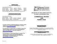 Commercial Review and Permit Fees - OrangeCountyFl.net
