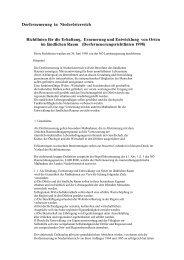 Richtlinien der Dorferneuerung zur Entwicklung und Erneuerung der ...