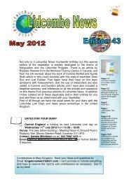Lidcombe News Edition 43rd - Montreal Fluency