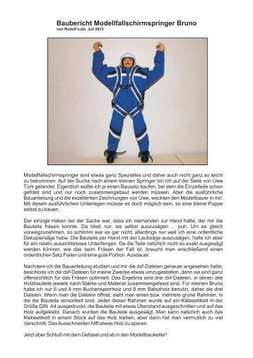 Baubericht Bruno 20130722 Teil 1 - Türks im Web