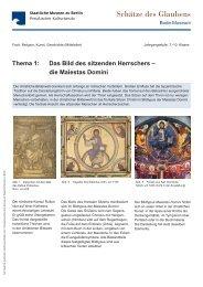 Schätze des Glaubens_Thema 1.indd - Staatliche Museen zu Berlin