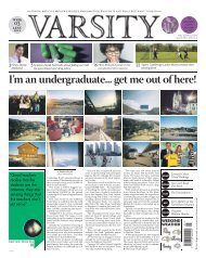 I'm an undergraduate... get me out of here! - Varsity