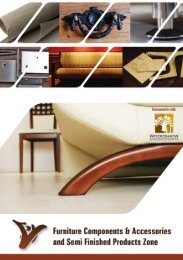 Furniture Components - Dubai Woodshow