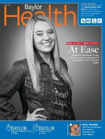 Plano - Baylor Health Care System Online Newsroom