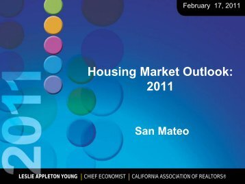 Housing Market Outlook: 2011 - San Mateo County Association of ...