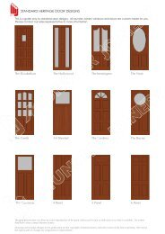 View Standard Heritage Door Designs - Munster Joinery