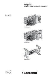 Varpact - Schneider Electric