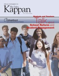 Talkabout School Reform and Student Engagement - College Board ...