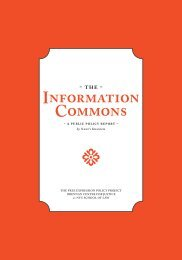 Information Commons - The Free Expression Policy Project