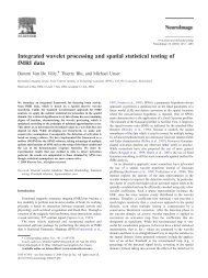 Integrated wavelet processing and spatial statistical testing of fMRI ...