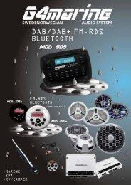 MOD 905 DAB/DAB+ FM-RDS Marine Radio - Univa