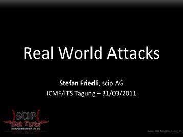 $> Real World Attacks - ICMF