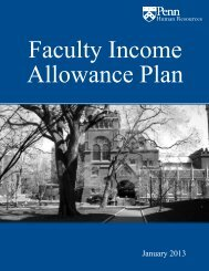 Planning for Retirement - Division of Human Resources - University ...
