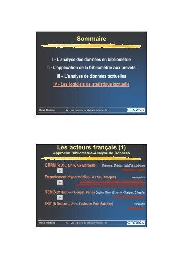 document support technique logiciel de statistiques minitab