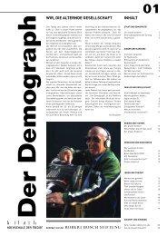Der Demograph - Robert Bosch Stiftung