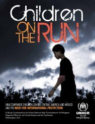 UAC_UNHCR_Children on the Run_Full Report