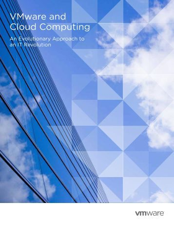 VMware and Cloud Computing - Advanced Network Systems