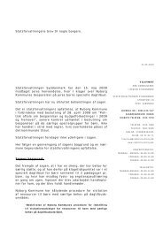 2010 05 21 Udtalelse Nyborg Kommune - Statsforvaltningen