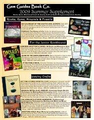 2009 Summer Supplement - Gem Guide Books