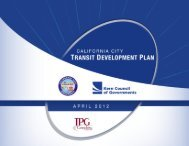 Transit Development Plan - California City