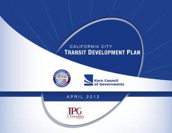 Transit Development Plan - California City
