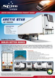 28 Double Loader Freezer - Southern Cross Transport Equipment ...