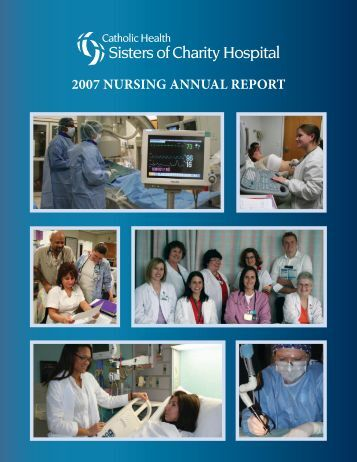 2007 NursiNg ANNuAl report - Catholic Health System