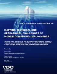 Operational Challenges of Mobile Computing Deployments