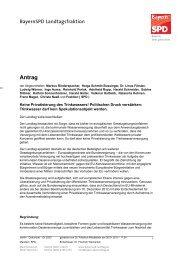 Keine Privatisierung des Trinkwassers! - SPD Ortsverein München-Au