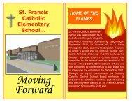 Moving Forward - Sudbury Catholic District School Board