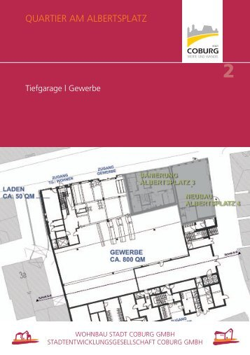 QUARTIER AM ALBERTSPLATZ - Wohnbau Stadt Coburg GmbH
